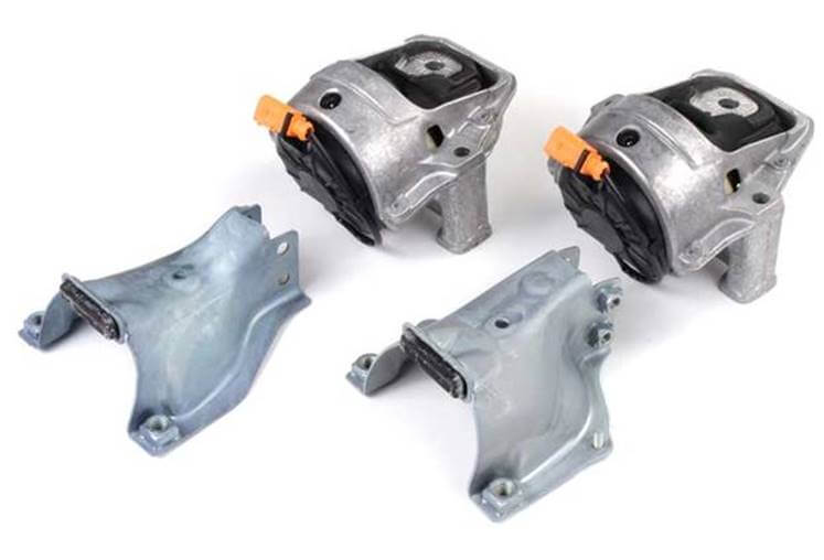 Audi's Electronically Controlled Engine Mount / Transgold